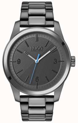 HUGO #create | pulseira cinza ip | mostrador cinza 1530119