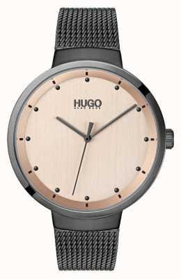 HUGO #go | malha cinzenta do ip | discagem rosa de ouro 1540003