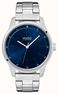 HUGO #dare | pulseira de aço inoxidável | mostrador azul 1530020