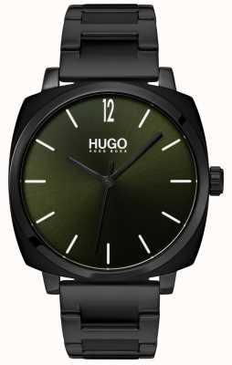 HUGO #own | pulseira preta ip | mostrador preto 1530081