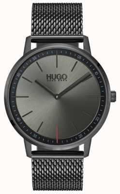 HUGO #exist | malha ip cinza | mostrador cinza 1520012