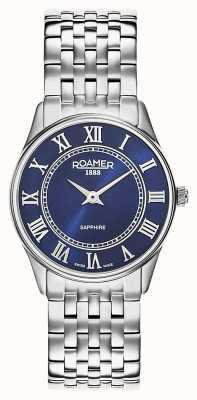 Roamer | mulheres | sonata | pulseira de aço inoxidável | mostrador azul | 520820 41 45 50
