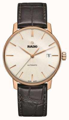 Rado | coupole classic automatic | couro marrom | discagem sunray | R22861115