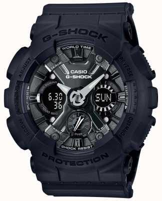 Casio | g-shock | série s | resina preta | GMA-S120MF-1AER