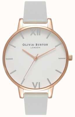 Olivia Burton | mulheres | grande discagem | pulseira vegana cinza | OB16BDV02