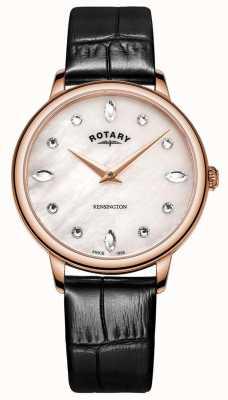 Rotary | kensington feminino | madrepérola dial | LS05174/41