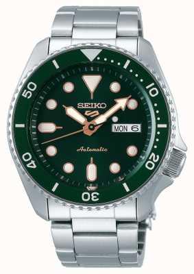 Seiko 5 esportes | esportes | automático | mostrador verde | aço inoxidável SRPD63K1