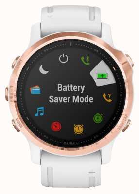 Garmin Fenix 6s pro | smartwatch multidesporto | pulseira de ouro rosa branca 010-02159-11