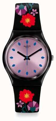 Swatch | gent original | relógio coquelicotte | GB319