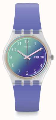 Swatch   gent original   relógio ultralavande   GE718