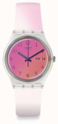 Swatch   gent original   relógio ultrafushia   GE719