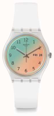 Swatch   gent original   relógio ultrasoleil   GE720