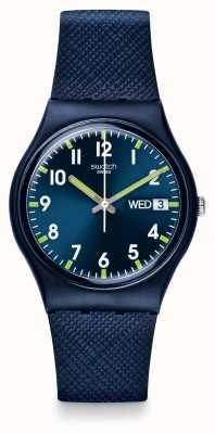 Swatch | gent original | senhor relógio azul | GN718