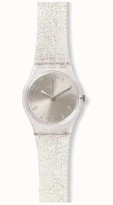 Swatch | senhora original | glistar prata também assistir | LK343E