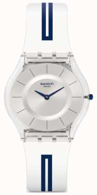 Swatch   pele clássica   relógio mediolino   SFE112