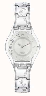 Swatch | pele clássica | alpinista relógio florido | SFK300G