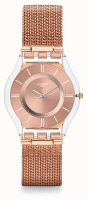 Swatch | pele clássica | olá querido relógio | SFP115M