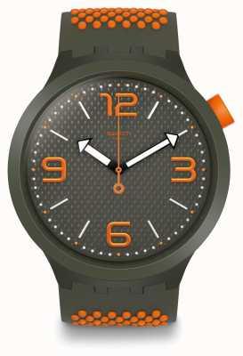 Swatch | grande negrito | relógio bbbeauty | SO27M101