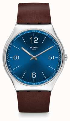 Swatch   ironia da pele 42   relógio de pele   SS07S101