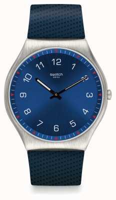 Swatch   ironia da pele 42   relógio de pele   SS07S102