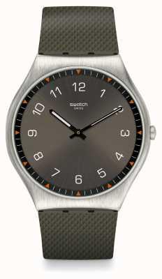 Swatch   ironia da pele 42   relógio de pele   SS07S103