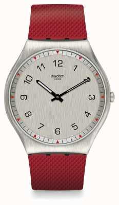 Swatch   ironia da pele 42   relógio de pele   SS07S105