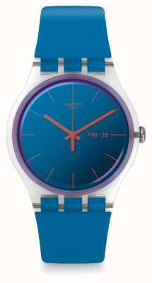 Swatch   novo senhor   relógio polablue   SUOK711