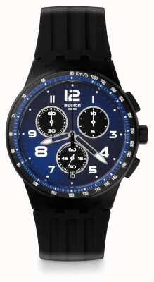 Swatch | crono plástico | relógio nitespeed | SUSB402