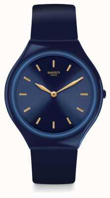 Swatch   pele regular   relógio skinazuli   SVON104