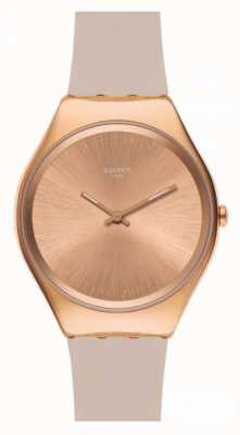 Swatch | ironia na pele | relógio skinrosee | SYXG101