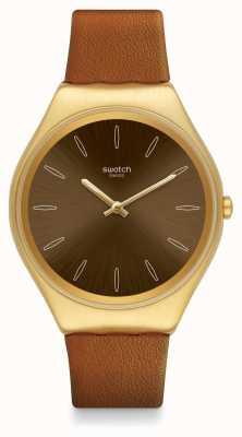 Swatch   ironia na pele   peles e relógio   SYXG104