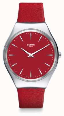 Swatch   pele com coceira   relógio skinrossa   SYXS119