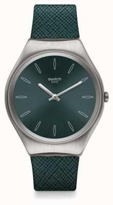Swatch   ironia na pele   relógio skinpetrol   SYXS121