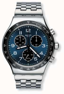 Swatch | novo crono ironia | relógio boxengasse | YVS423G