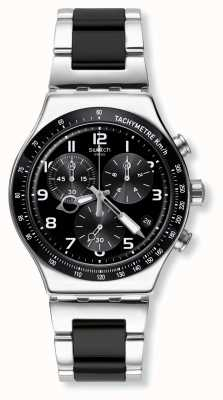 Swatch | novo crono ironia | acelerar o relógio | YVS441G