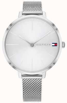 Tommy Hilfiger Projeto z | pulseira de malha de aço | mostrador prateado | 1782163