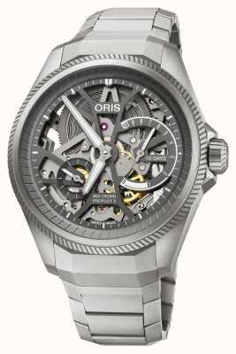 Oris | pulseira grande esqueleto propilot x calibre 115 | 01 115 7759 7153-SET7 22 01TLC