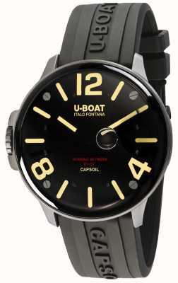 U-Boat Capsoil ss eletromecânica couro marrom 8110/A