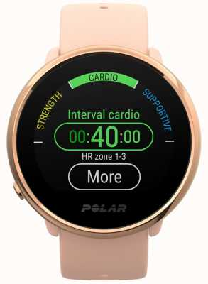 Polar | inflamar | rosa & rosa relógio de fitness | pequeno | borracha rosa 90079898