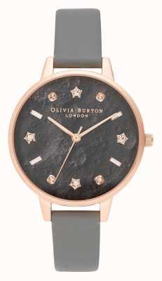 Olivia Burton | mulheres | celestial | pulseira vegana cinza london | OB16GD55