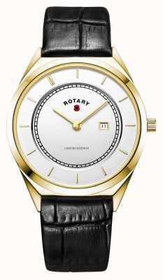 Rotary Relógio papoula de edição limitada da legião britânica BRITISHLEGION2