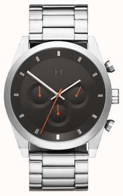 MVMT Crono Element | pulseira de aço inoxidável | mostrador cinza | 28000046-D