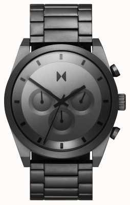 MVMT Crono Element | pulseira de aço inoxidável cinza | mostrador cinza 28000048-D