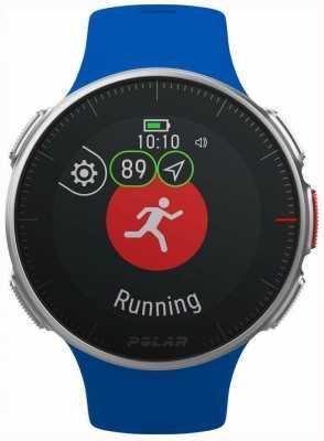 Polar | vantagem v azul | gps multi sport premium treinamento hr 90080283