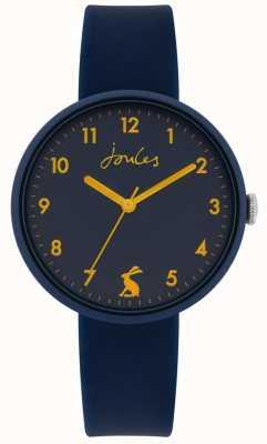 Joules | costa pulseira de silicone azul marinho | mostrador da marinha | JSL020U