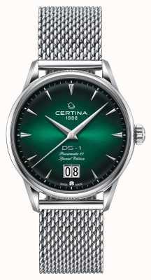 Certina Ds-1 edição especial grande data | powermatic 80 | malha de prata C0294261109160