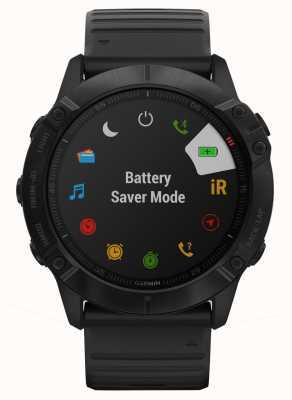 Garmin Fenix 6x pro | silicone preto | smartwatch multiesportivo 010-02157-01