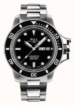 Ball Watch Company Hidrocarboneto de engenheiro masculino | original inoxidável automático DM2118B-SCJ-BK