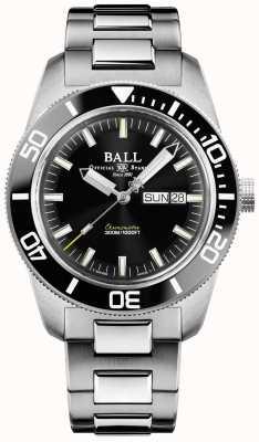 Ball Watch Company | engenheiro mestre ii | herança skindiver | DM3308A-SC-BK