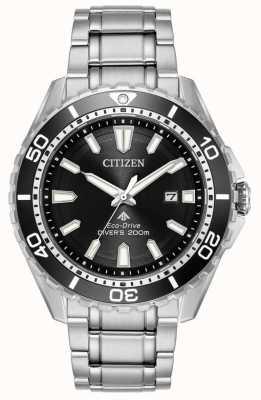 Citizen Eco-drive mergulhadores promaster wr200 | aço inoxidável BN0190-82E